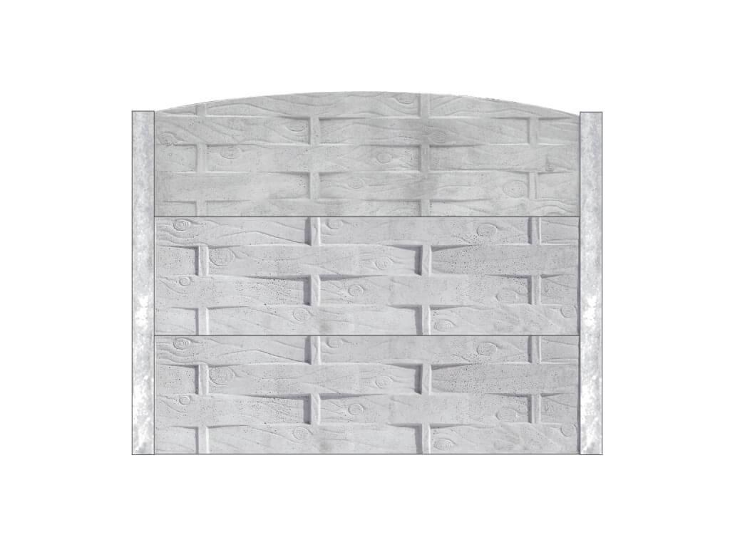 Ogrodzenie betonowe M57