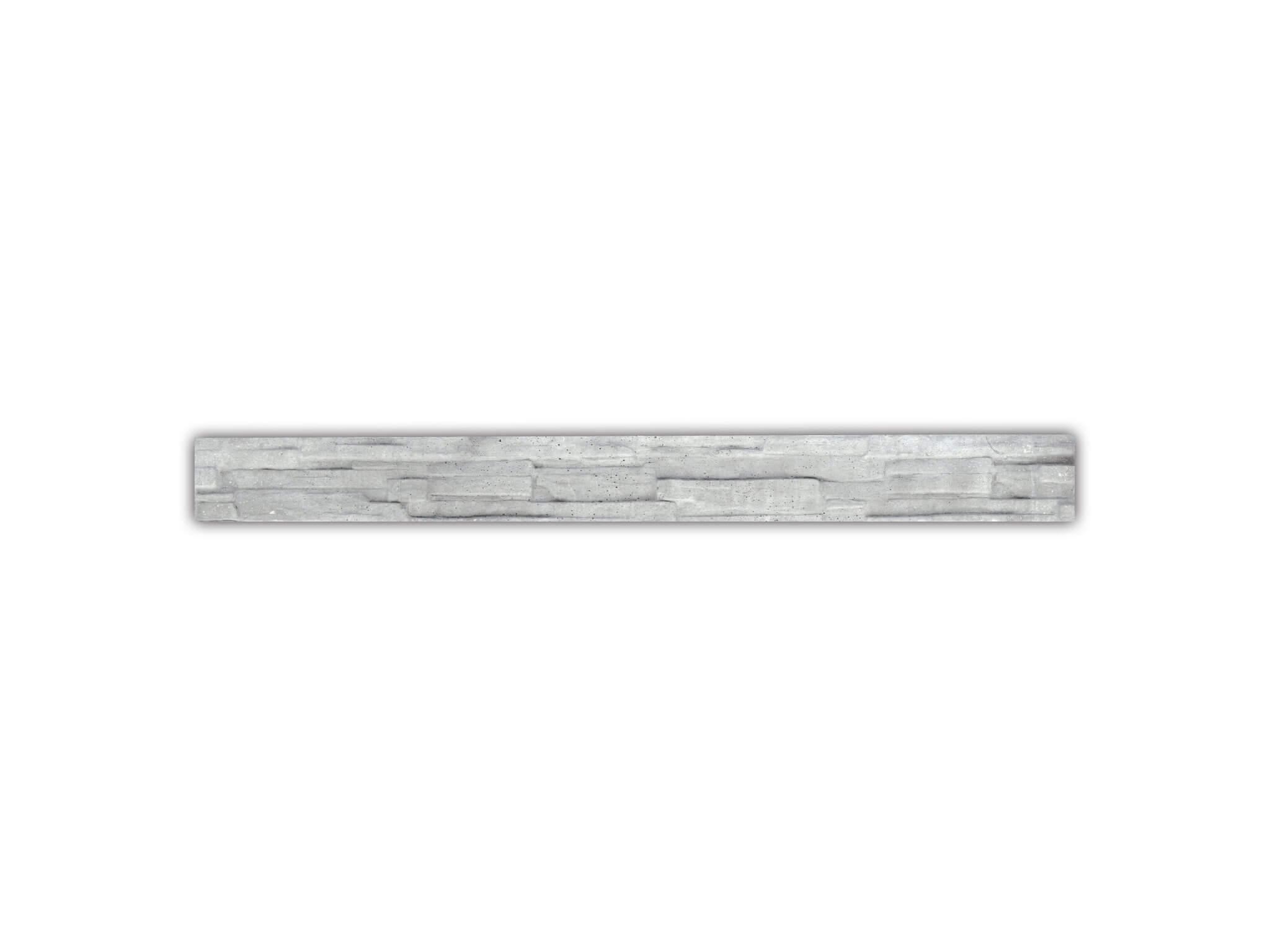 Betonowa płyta fundamentowa dla ogrodzeń 20 x 238; PIASKOWIEC