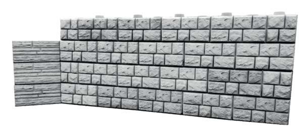 ozdobne mury